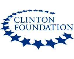 Travel expenses for the Bill, Hillary and Chelsea Clinton Foundation for last year totaled more than $8 million