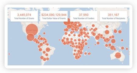 Foundation Maps Brings Philanthropic Data To Life!