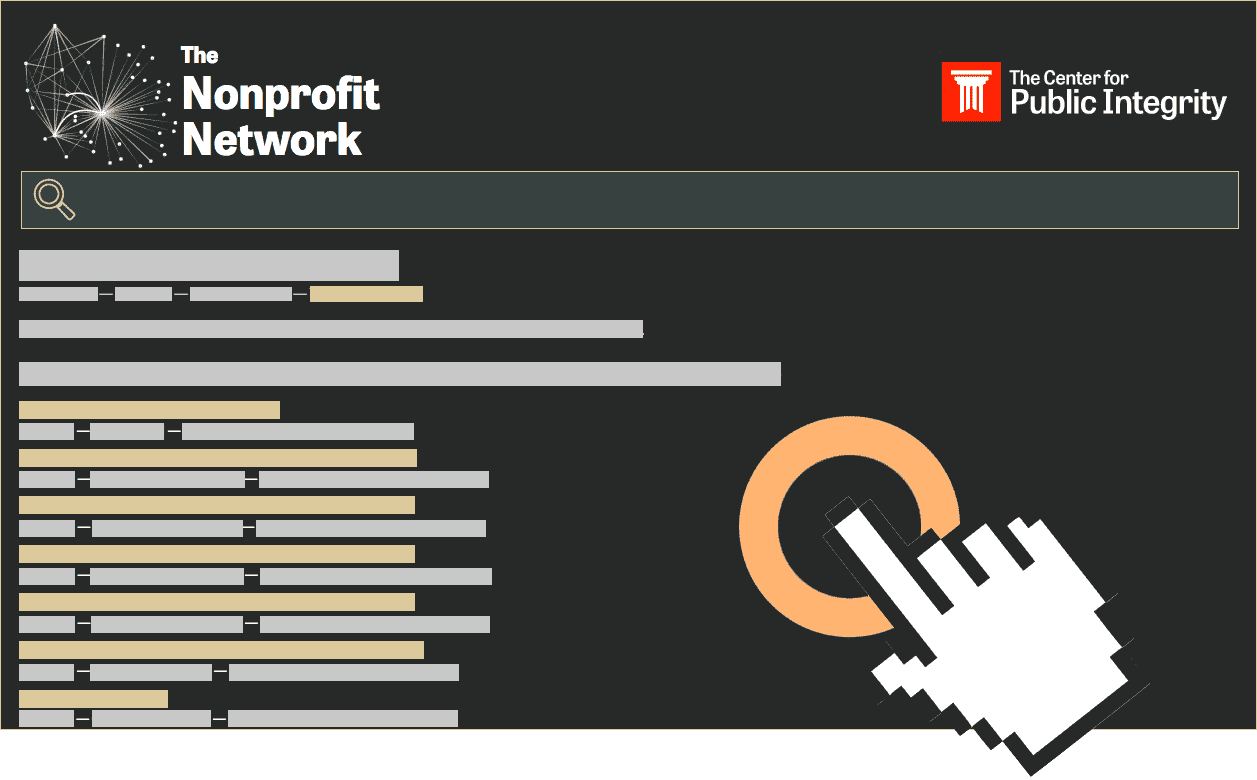Center for Public Integrity Exposes $170 billion money trail with New Nonprofit Network tool!